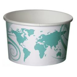 Eco-Products - EP-BSC12-WDL - 12 oz World Delight™ Renewable and Compostable Food Containers image