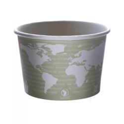 Eco-Products - EP-BSC16-WA - 16 oz World Art™ Compostable Soup Containers image