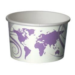 Eco-Products - EP-BSC16-WDL - 16 oz World Delight™ Renewable and Compostable Food Containers image
