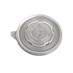 Eco-Products - EP-BSCPPLID-L-CS - 12-32 oz Soup Container Lids image
