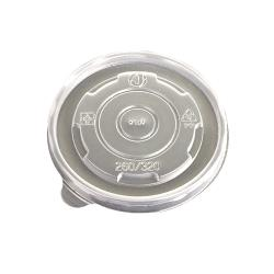 Eco-Products - EP-BSCPPLID-S - 8 oz Evolution World™ Hot and Cold Container Lids image