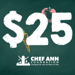 Chef Ann Foundation - $25 Donation image
