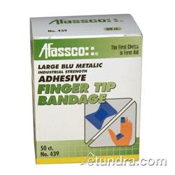 Afassco - 439 - 2 in Blue Fingertip Bandage with Metal Strip image