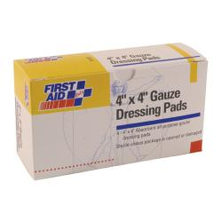 First Aid Only - B207 - 4 in x 4 in Gauze Pads image