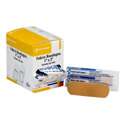 First Aid Only - G121 - 1 in x 3 in Adhesive Bandages image