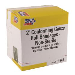 First Aid Only - H245 - 2 in (W) x 12 in (L) Gauze Rolls image