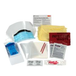 First Aid Only - 214-P - Body Fluid Clean-Up Kit image