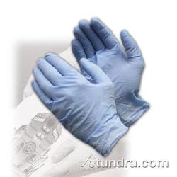 PIP - 63-331PF/M - Blue Powder Free Exam Grade Nitrile Gloves (M) image