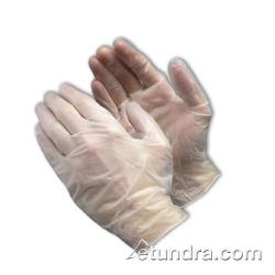 PIP - 64-435PF/L - Clear Powder Free Exam Grade Vinyl Gloves (L) image