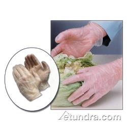 PIP - 64-V2000PF/XXL - Clear Powder Free 4.5 mil Industrial Grade Vinyl Gloves (2XL) image