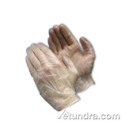 PIP - 64-V3000PF/L - Clear Powder Free 3 mil Vinyl Gloves (L) image