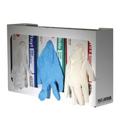 San Jamar - G0804 - White 3 Box Glove Dispenser image