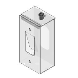 Sanisafe - 551016-1140 - Locking Glove Dispenser Box image