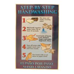Commercial - Hand Washing Hints Food Safety Poster image