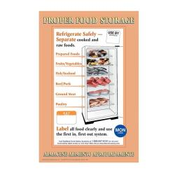Commercial - IT112270 - Proper Food Storage Poster image