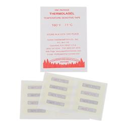 Commercial - Single Temperature Dishwasher Test Labels image