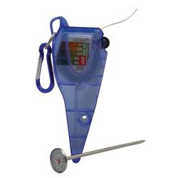 San Jamar - SFC1200QT - 0  - 200 F Quat Measurer and Thermometer image