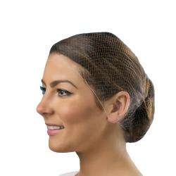 Cellucap - HN500DKBRN - Large Disposable Hair Nets image
