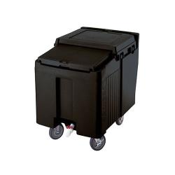 Cambro - ICS125L110 - 125 lb Black SlidingLid™ Ice Caddy image