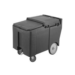 Cambro - ICS175LB110 - 175 lb Black SlidingLid™ Ice Caddy image
