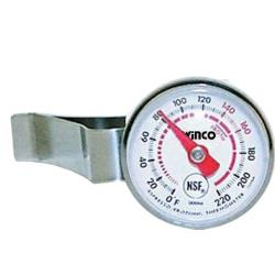 Winco - TMT-FT1 - 0  - 220 F Beverage Thermometer image