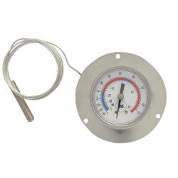 Commercial - -40° - 65°F Recess Mount Refrigerator Thermometer image