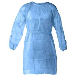 Commercial - GOWN1-PE-BL-XL - Level 1 Disposable Isolation Gown image