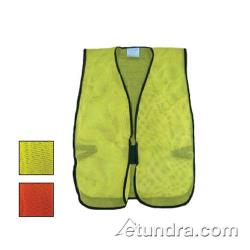 PIP - 300-0800-LY - Yellow Mesh Safety Vest Non-ANSI image