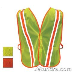 PIP - 300-0900LY - Yellow Mesh Safety Vest Non-ANSI w/ Reflective Tape image