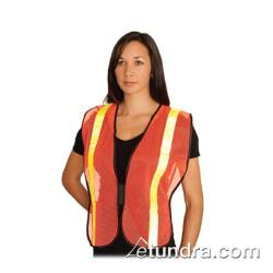 PIP - 300-EVOR-POR - Orange Mesh Safety Vest Non-ANSI w/ Yellow Reflective Tape image