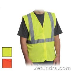PIP - 302-WCENGOR-L - Orange Solid Safety Vest (L) image