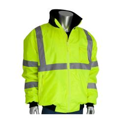 PIP - 333-1762-YEL/L - Yellow Class 3 Bomber Jacket (L) image