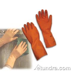 "PIP - 47-2-242T/S - 13"" Orange Latex Gloves (S) image"