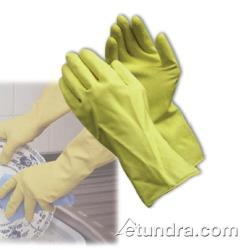 "PIP - 47-L170Y/S - 12"" Yellow Industrial Latex Gloves (S) image"