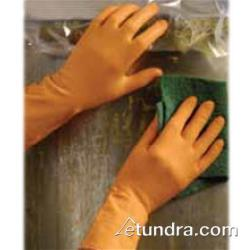 "PIP - 47-L210T/S - 15"" Orange Latex Gloves (S) image"