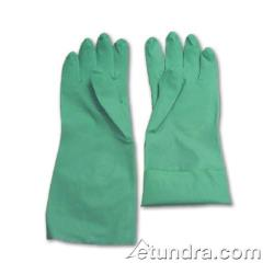 "PIP - 50-N115G/L - 13"" Green 11 mil Nitrile Gloves w/ Super Grip (L) image"