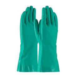 PIP - 50-N160G/L - Large 13 In Green 16 mil Nitrile Gloves w/ Grip image