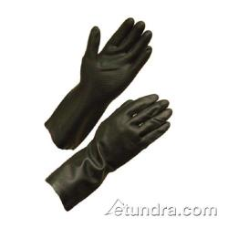 "PIP - 52-3665/M - 12"" Black Neoprene Gloves w/ Grip (M) image"