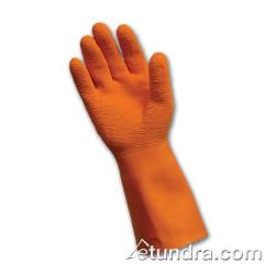 PIP - 55-1632/M - Nylon Gloves w/ Orange Latex Coating (M) image