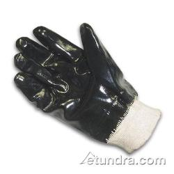 PIP - 57-8615 - Lined Black Neoprene Coated Gloves w/ Knit Wrist (L) image