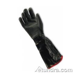 "PIP - 57-8653R/M - 18"" Insulated Black Neoprene Coated Gloves w/ Grip (M) image"