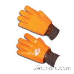 PIP - 58-7313 - ProCoat Orange PVC Coated Gloves w/ Grip (L) image