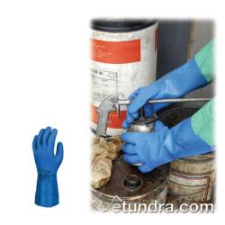 "PIP - 58-MULTIPLUS40/XL - 16"" Blue PVC Coated Gloves w/ Grip (XL) image"