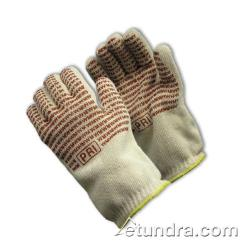 PIP - 43-802L - 24 oz Cotton Hot Mill Gloves w/ Grip (L) image