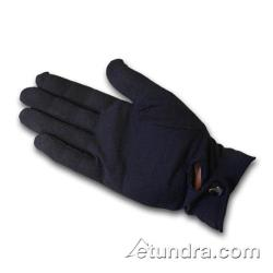 PIP - 130-650BM - Men's Black Stretch Nylon Dress Gloves w/ Wrist Snap (L) image