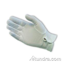 PIP - 130-650WL - Women's White Stretch Nylon Dress Gloves w/ Wrist Snap image