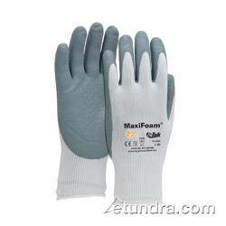 PIP - 34-800/L - Maxifoam Gray Nitrile Coated Gloves (L) image
