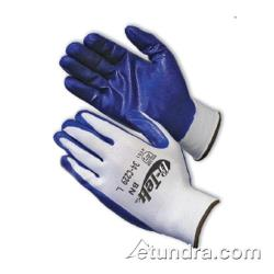 PIP - 34-C229/L - G-Tek Blue Nitrile Coated Gloves (L) image