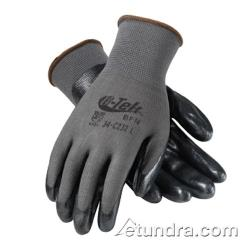 PIP - 34-C232/XS - G-Tek Black Foam Nitrile Coated Gloves (XS) image