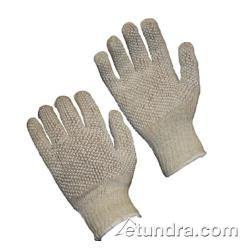PIP - 36-110PDD-WT/S - White Cotton/Polyester Gloves w/ Dotted Coating (S) image